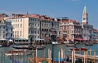 Venezia (Italy): view of the Canale di San Marco