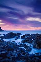 Sunset on Fuerteventura Canary Islands Spain