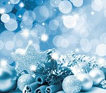 Christmas background with blurred light effect