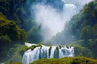Marmore waterfalls, Cascata delle Marmore (Marmore´s Falls), Valnerina, Terni, Umbria, Italy, Europe