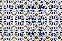 Portuguese glazed tiles 059