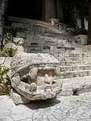 Mayan sculpture