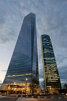CTBA s a business park near Paseo de la Castellana in Madrid Originally known as Madrid Arena, the consortium of the four towers owners decided to ado...