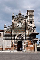 Prato (Italy): the Cathedral of Santo Stefano