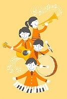 Group of people playing musical instrument (thumbnail)