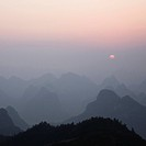 Mountains at sunrise (thumbnail)