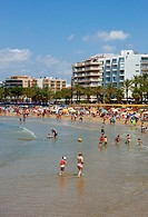 Llevant beach. Salou, Catalonia, Spain