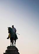 Milan, statue of Giuseppe Garibaldi
