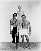 """Film, """"April discovers the men"""" Gidget, after novel of Frederick Kohner, the USA 1959, direction: Paul Wenkos, PR photo with Sandra DTE, James Darren ..."""
