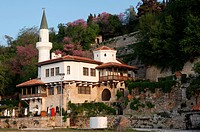 Balchik, the palace from the North