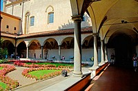 Sant´Antonino cloister. Convento di San Marco, Florence, Italy