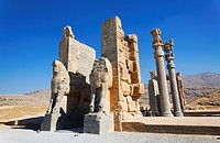 The Gate of All Nations at Persepolis, Iran