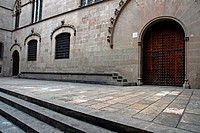 Casa de la Ciutat, gothic, City Hall, Barcelona, Catalonia, Spain