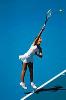 Young Female Tennis Player
