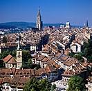 Town skyline, Bern, canton Bern, Switzerland