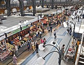 Central market  Budapest, Hungary