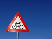 Cyclists ahead