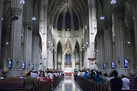 USA  United States  New York  St  Patrick´s Cathedral.