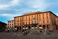 Travel _ Piazza della Rocca, Viterbo, Lazio, Italy.