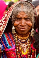 Lambani Gypsy Tribals, forest dwellers, now settled in 30_home hamlets in rural Karnataka, India. Related to the Rabaris gypsies of Kutch, Gujarat.