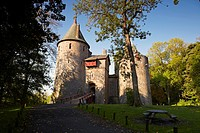 Castell Coch, Castle, Tongwynlais, Wales, UK