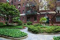 Park at an Urban Apartment Complex