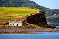 Ireland, Ring of Kerry, landscape near Waterville