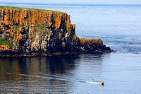 Northern Ireland, Carrick_a_Rede, Larry Bane bay