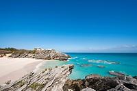 Stonehole Bay beach, Bermuda.