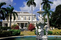 Caribbean, Jamaica, Kingston. Devon House, 1881 Mansion, former national gallery