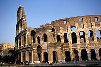 The Colosseum Flavian Amphitheatre, Rome, Italy