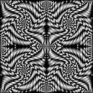 retro spiral black texture