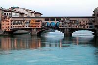 Ponte Vecchio bridge in Florence, Italy