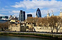 Tower of London skyline