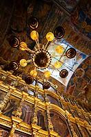 Russia, Yaroslavl Oblast, Golden Ring, Yaroslavl, Church of Elijah the Prophet, altar