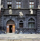 Black House on Market Square 1577, Lviv, Lviv oblast, Ukraine