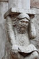Ferrara Cathedral Basilica Cattedrale di San Giorgio, Ferrara, UNESCO World Heritage Site, Emilia_Romagna, Italy