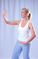 Body and breath practice Qi Gong