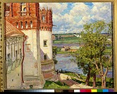 The Novodevichy Convent. Vasnetsov, Appolinari Mikhaylovich (1856-1933). Oil on canvas. Russian Painting, End of 19th - Early 20th cen. . 1926. State ...