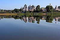 Monastery of St James Spaso_Yakovlevsky Monastery, lake Nero, Rostov, Yaroslavl region, Russia