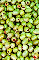 Green Filled Olives
