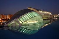 The Hemisferic, City of Arts and Sciences, Valencia, Spain