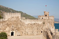 mamure kalesi, castello del XII secolo, anamur, costa mediterranea, turchia, asia