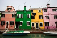 4 detached houses in Burano, Italy