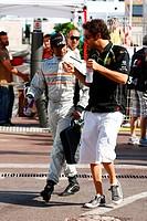 !Narain Karthikeyan IND, Bruno Senna BRA, Monaco Grand Prix, Monte Carlo