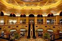 the Venetian Hotel in Macao