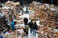 Chile. Valdivia city. The Rivers district. Craft market