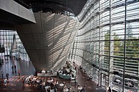 Japan-Tokyo City-The National Art Center-Interior