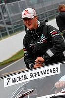 Michael Schumacher, Drivers Parade, Formula One, Canadian Grand Prix, Montreal, Canada