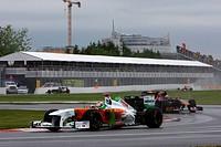 Adrian Sutil, Sébastien Buemi, Formula One, Canadian Grand Prix, Montreal, Canada